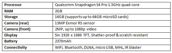 Xperia Zl Specs Review: Sony Xperia ZL...