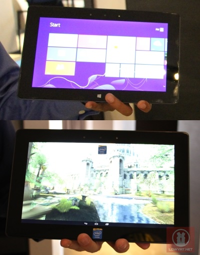 Intel Bay Trail Prototype Tablet