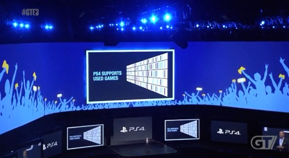 PS4 Supports Used Games