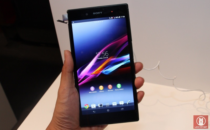Sony xperia z ultra coming to verizon