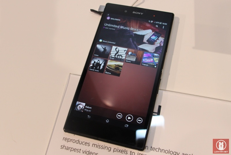 First Look: Sony Xperia Z Ultra 6 44-inch Android Smartphone