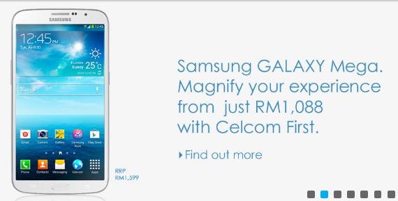 Celcom Samsung Galaxy Mega 6.3