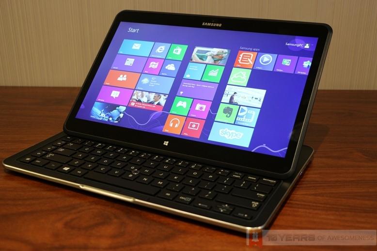 Hands On: Samsung ATIV Q Hybrid Tablet– Windows 8 and ...