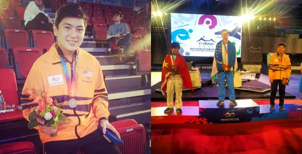 Vin Chew: Bronze Medalist in FIFA 13 at Asian Indoor & Martial Arts Games 2013
