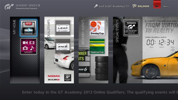 GT Academy 2013 powered by Gran Turismo 6