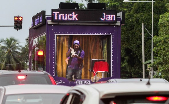 Cadbury Dairy Milk's Joy Truck