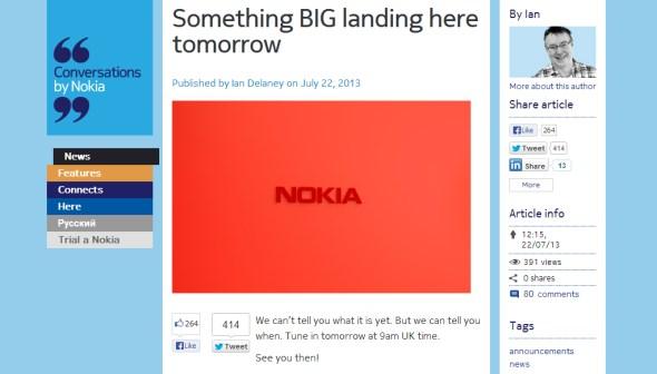 "Nokia ""Something Big"" Teaser"