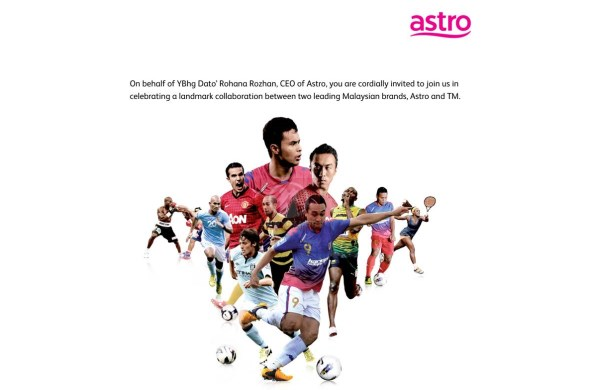 Astro - TM Sports Contents Collabration