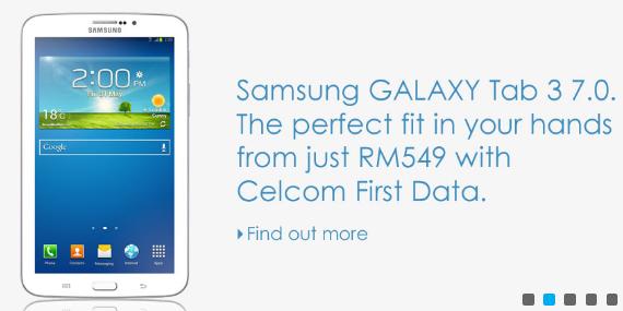 Celcom Galaxy Tab 3