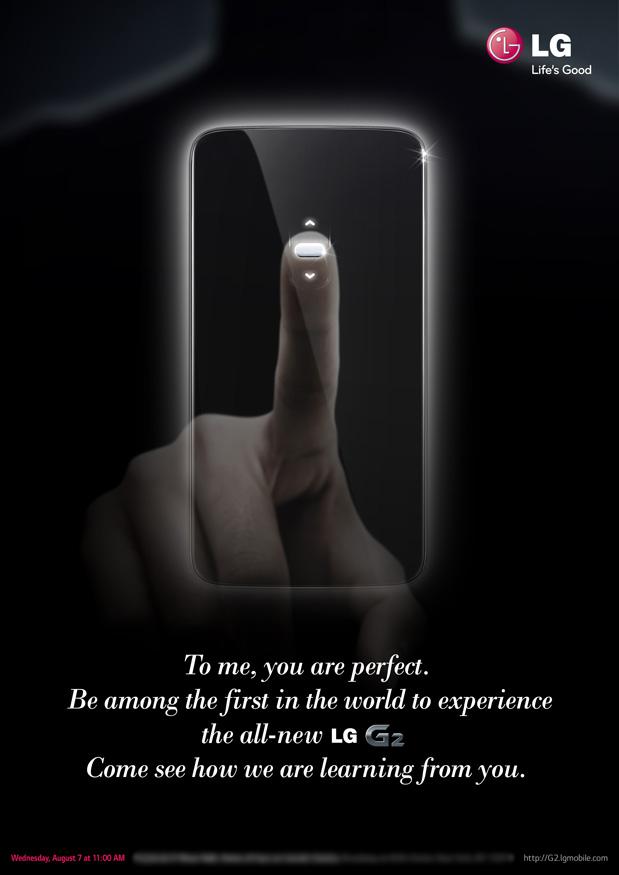 LG G2 Teaser 2