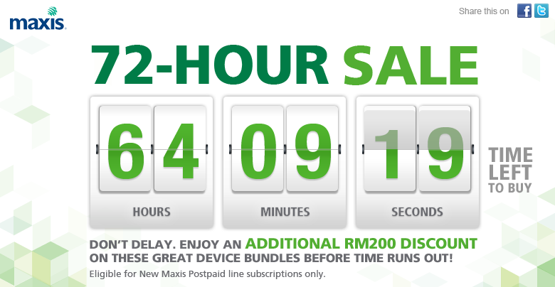 Maxis 72 Hours
