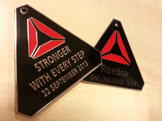 Reebok ONE Challenge 2013 Finisher's Medal