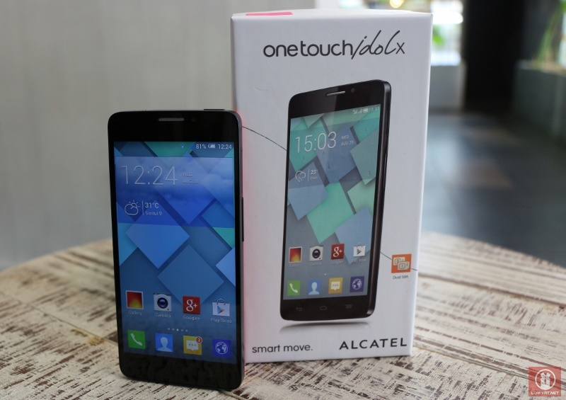 Alcatel One Touch Idol X 15