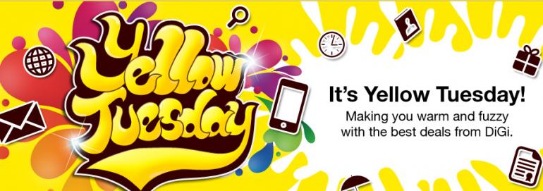 DiGi Yellow Tuesday