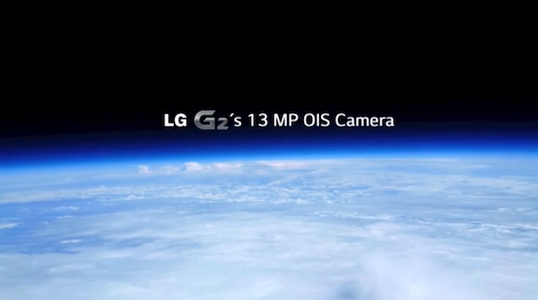 LG G2 to Space and Back