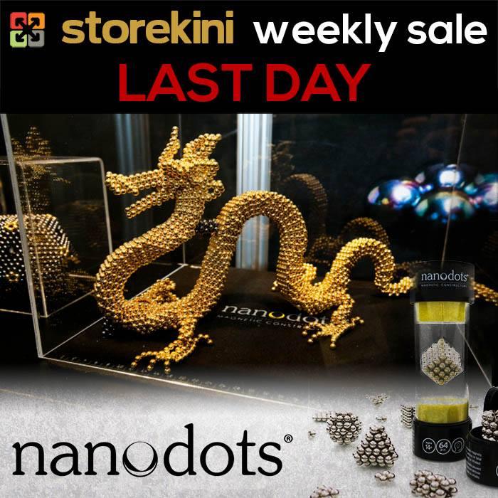 Storekini Weekly Sales Nanodots Last Day