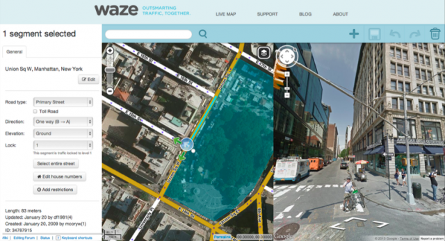 Waze with Google