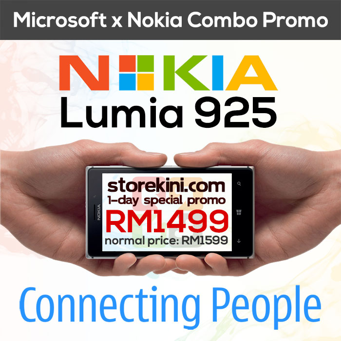 StoreKini One Day Special: Nokia Lumia 925 - 3 Sept 2013