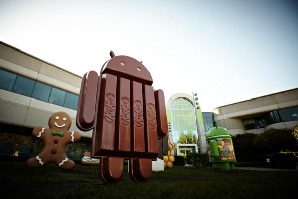 Android KitKat at Googleplex