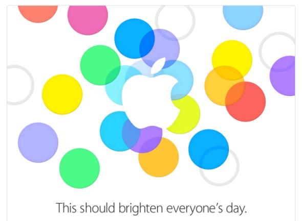 Apple 10 September 2013 Event Invite