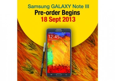 DiGi - Samsung Galaxy Note 3 Pre-Order