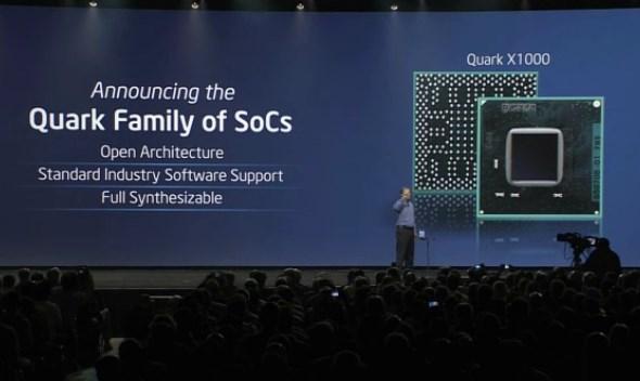 IDF 2013: Intel Quark SoCs