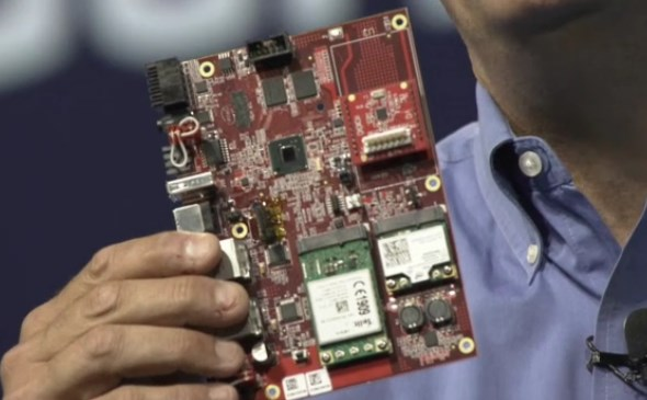 IDF 2013: Intel Quark Reference Design Board