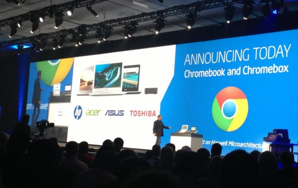 Intel Haswell-based Chromebooks and Chromeboxes