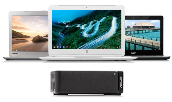 Intel Haswell Chromebooks and Chromebox - Toshiba, HP, Acer and ASUS