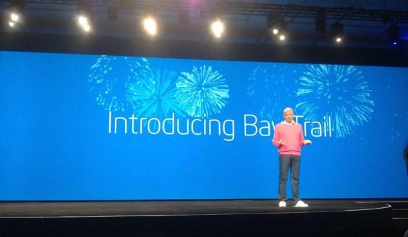Intel Bay Trail Launch @ IDF 2013
