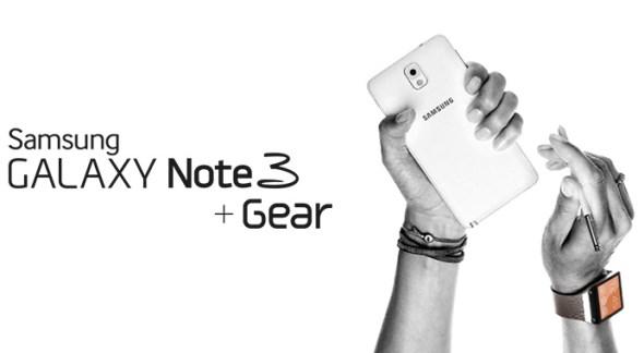 Samsung Galaxy Note 3 + Galaxy Gear
