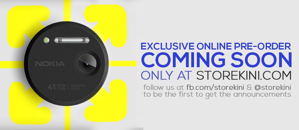 Nokia Lumia 1020: Exclusive Online Pre-Order at Storekini by Lowyat..NET