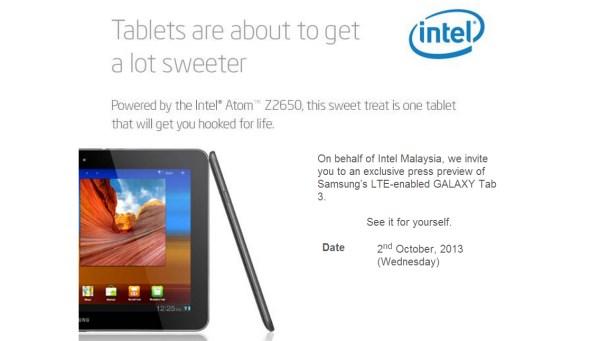 Samsung Galaxy Tab 3 10.1 LTE Launch In Malaysia