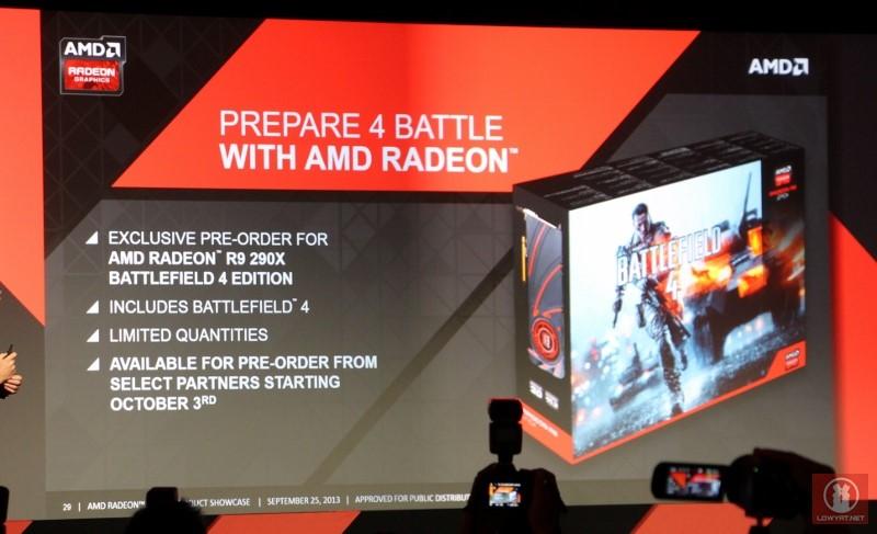 AMD Radeon R9 290X Battlefield 4 Limited Edition Bundle