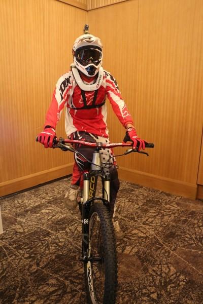 Action Cam Biker