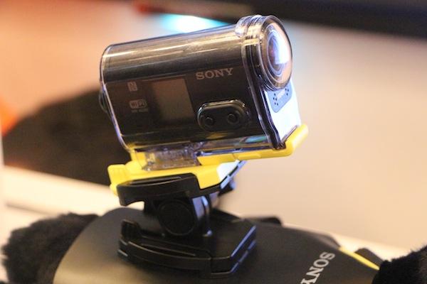 Action Cam Closeup
