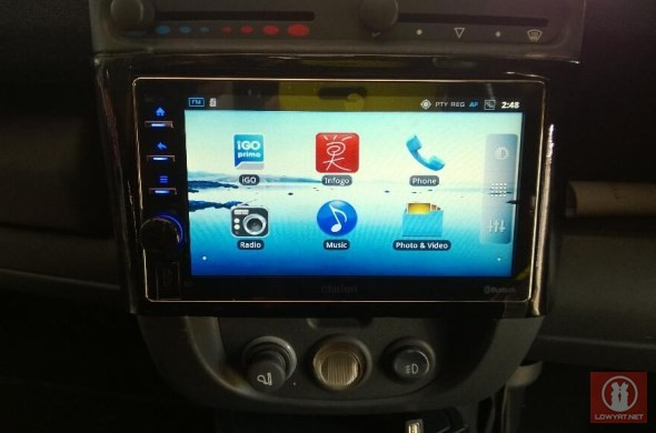 Clarion AX1 Android Car Stereo 01
