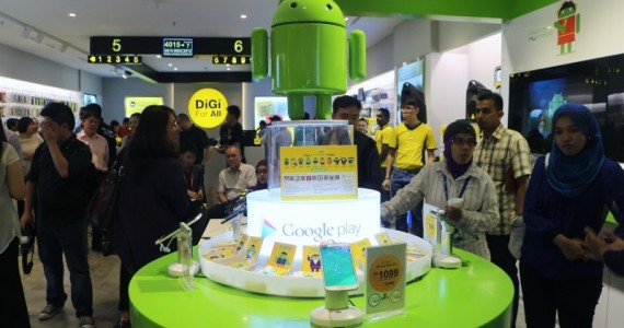 DiGi Launches myAndroid Hub: An In-Store Section Dedicated To All Things Android