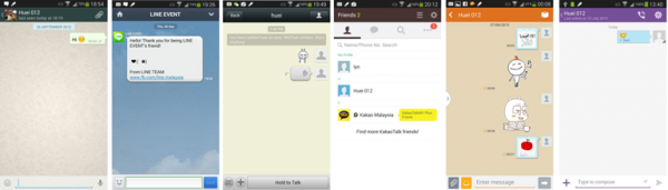 Messaging Apps Chat Feature Small