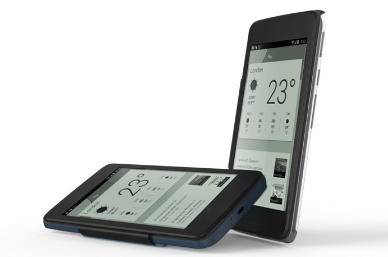 One Touch Hero E Ink Casing