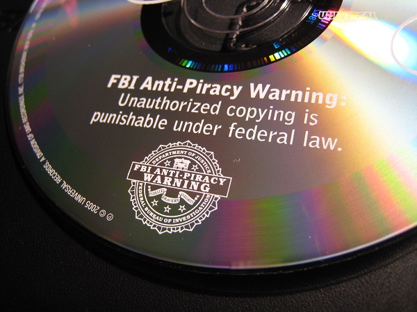 Piracy warning