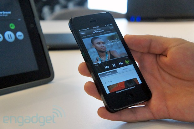 Spotify Connect Engadget