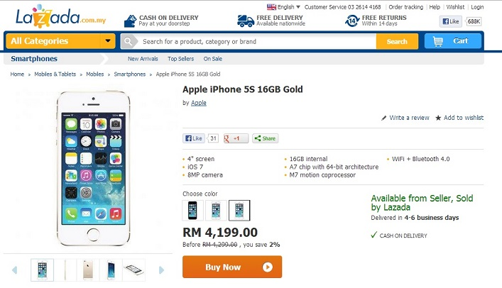lazada-iphone-5s-gold