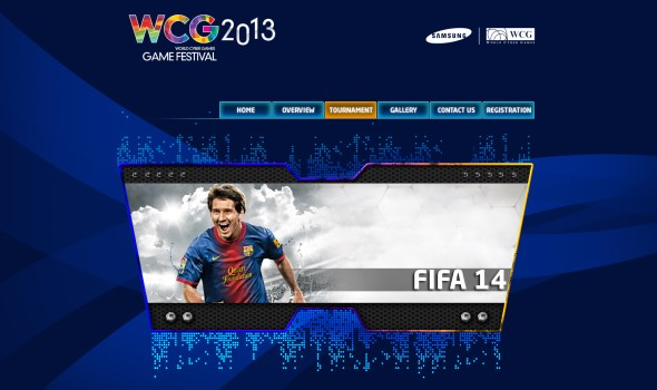 FIFA 14 @ WCG Malaysia 2013