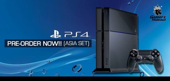 Gamer's Hideout PS4 Pre-Order