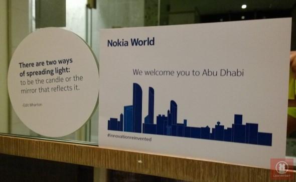 Nokia World 2013 Abu Dhabi