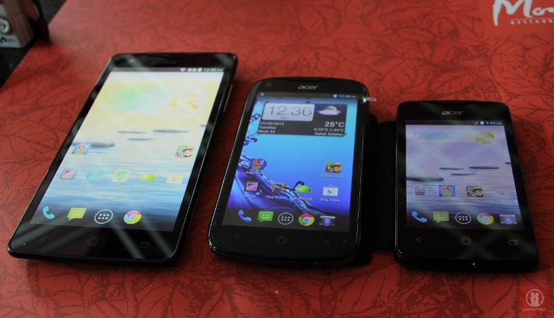 Acer Liquid E2 S1 And Z3 Smartphones Now In Malaysia