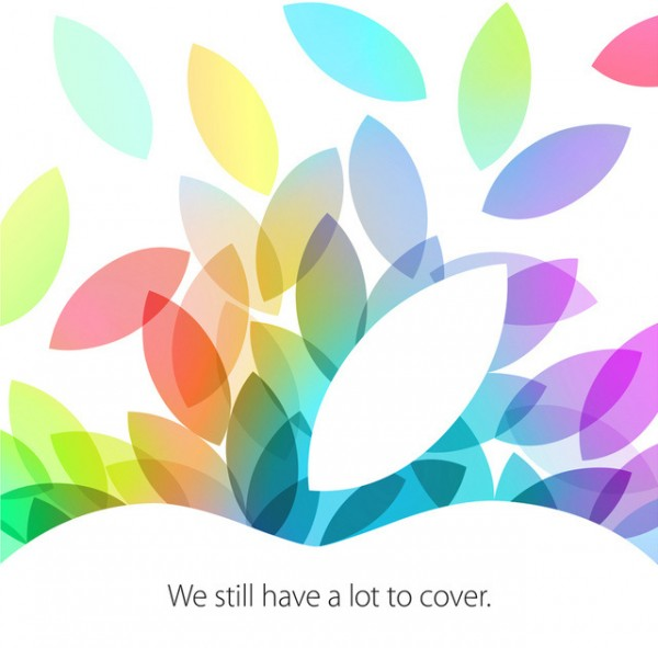Apple 22 Oct Invite