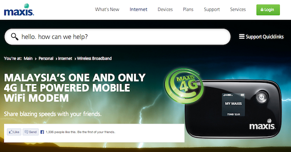Maxis Introduces New 4G LTE Powered Mobile Wi-Fi Modem, Free with
