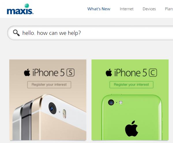 Maxis iPhone ROI